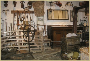 The museum at Cotswold Woollen Weavers