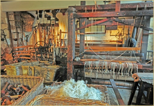 So much to see in the museum at Cotswold Woollen Weavers