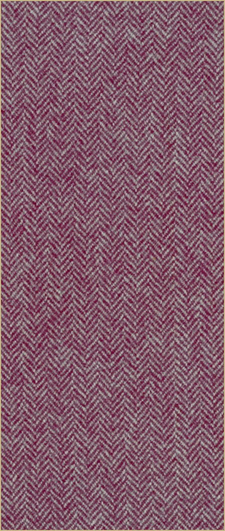 Cotswold Woollen Weavers' Pure New Wool herringbone upholstery cloth - Mulberry