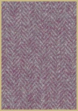 Cotswold Woollen Weavers' Pure New Wool herringbone upholstery cloth - Lilac