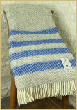 Lambswool Natural Throw - Bark